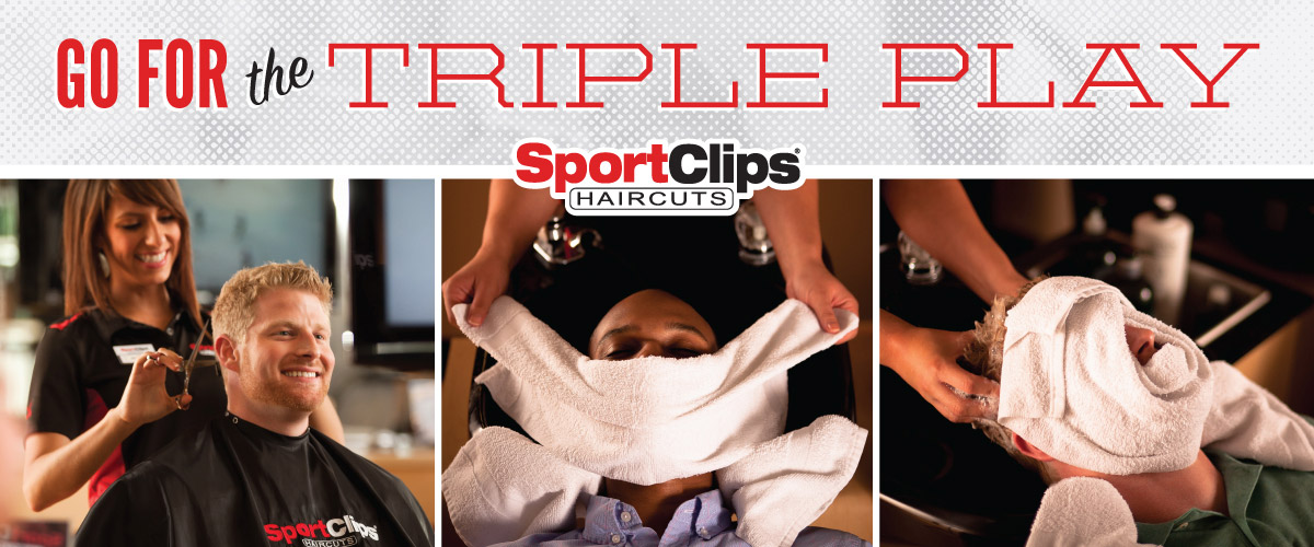 The Sport Clips Haircuts of Lone Tree Triple Play